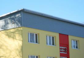 Nitplätze für Mauersegler im Zuge einer Dachsanierung