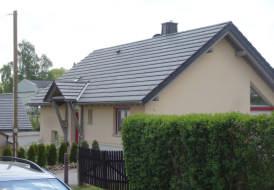 Neubau EFH mit Aufdachdämmung und Tondachziegel Koramic ACTUA