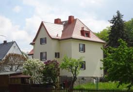 Dachsanierung mit Aufdachdämmung und Biberdeckung als Doppeldeckung